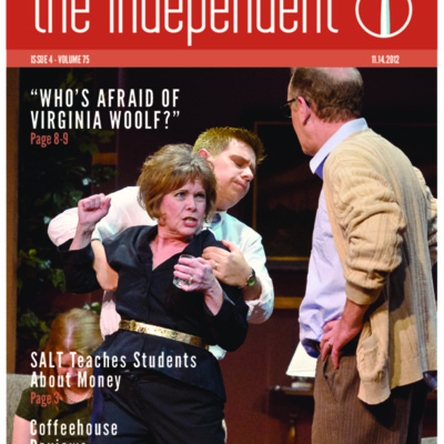 The Independent November 14, 2012  Vol. 75 No. 4