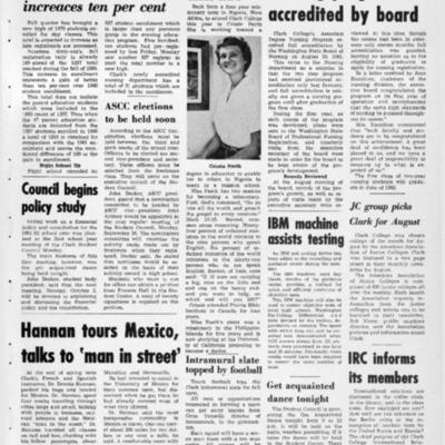 The Penguin's ProgressSeptember 22, 1961  Vol. 4 No. 2
